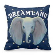 Dumbo: Cute Large Ears Painted Art Throw Pillow – Live Action Film – Customized
