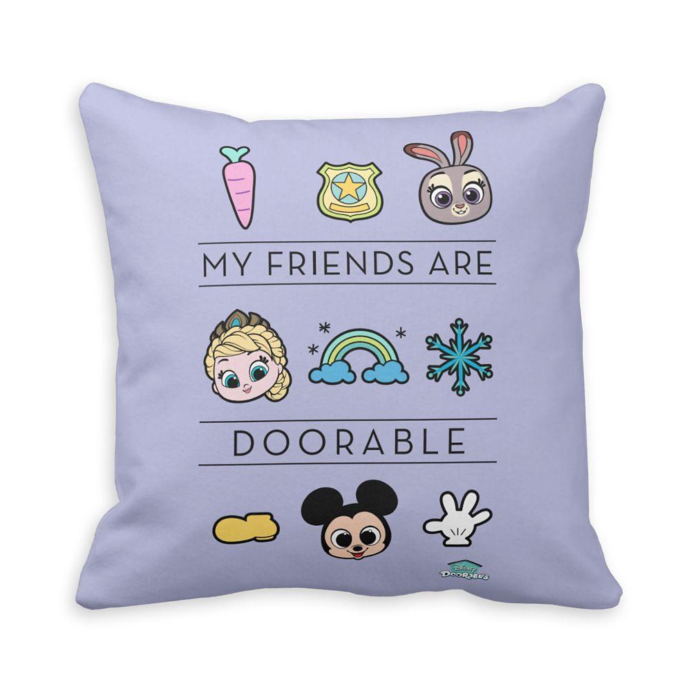 Disney Doorables My Friends are Doorable Throw Pillow – Customized