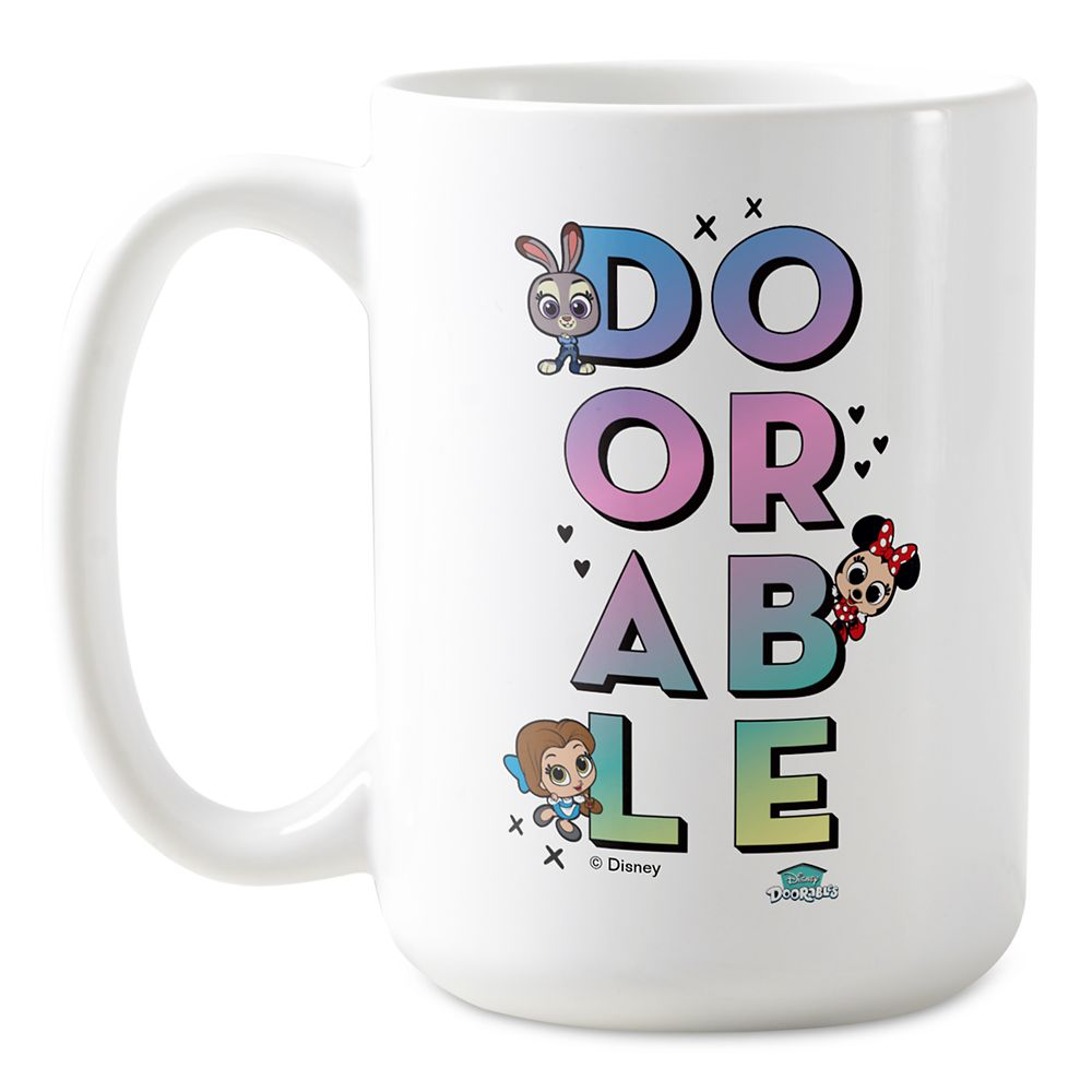 Disney Doorables Our Friendship Stacks High Coffee Mug  Customized