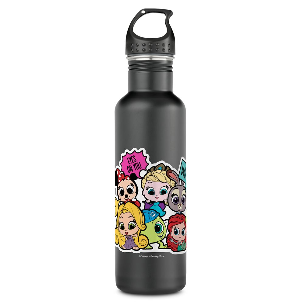 Disney Doorables Eyes on You Stainless Steel Water Bottle