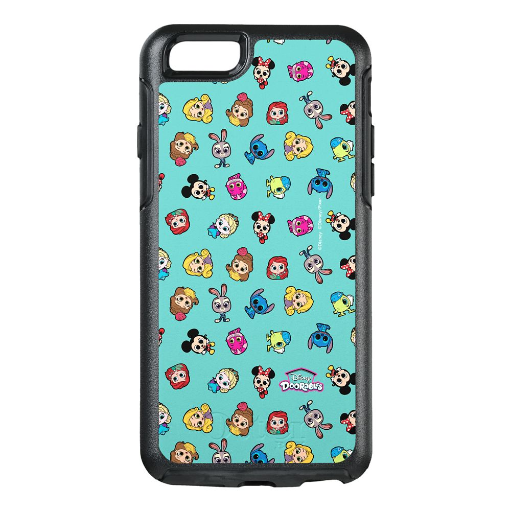 Disney Doorables So Many Friends Pattern OtterBox Symmetry iPhone 6/6s Case – Customized
