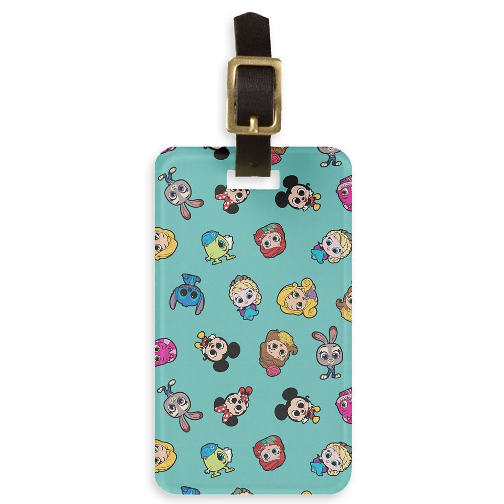 Disney Doorables So Many Friends Pattern Bag Tag  Customized