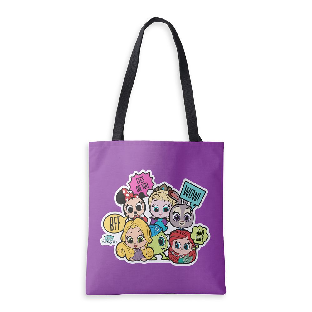 Disney Doorables Eyes on You Tote Bag  Customized