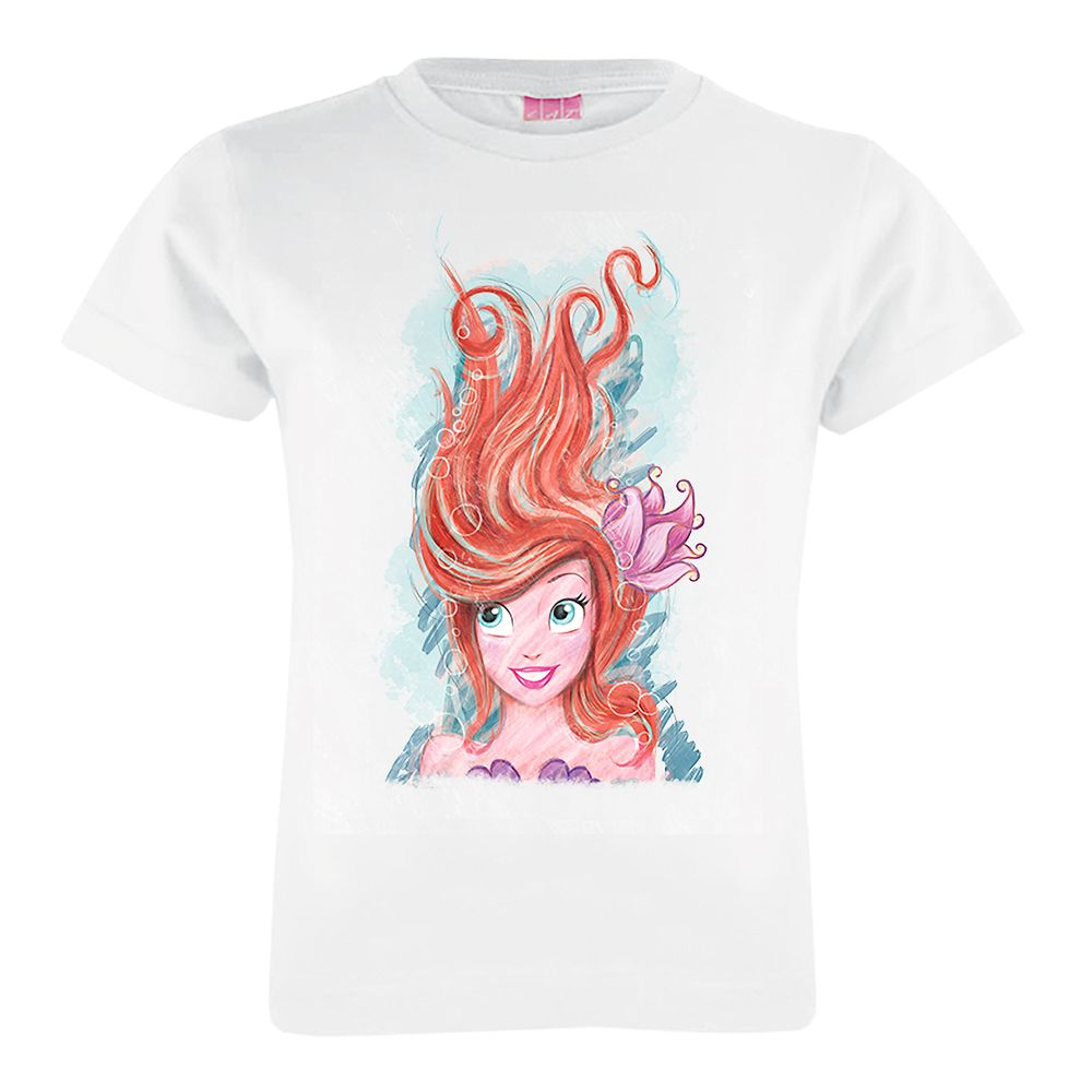 Art of Ariel: Live the Adventure T-Shirt for Girls  Customized Official shopDisney