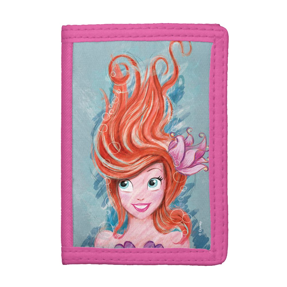 Art of Ariel: Live the Adventure Trifold Wallet  Customized Official shopDisney