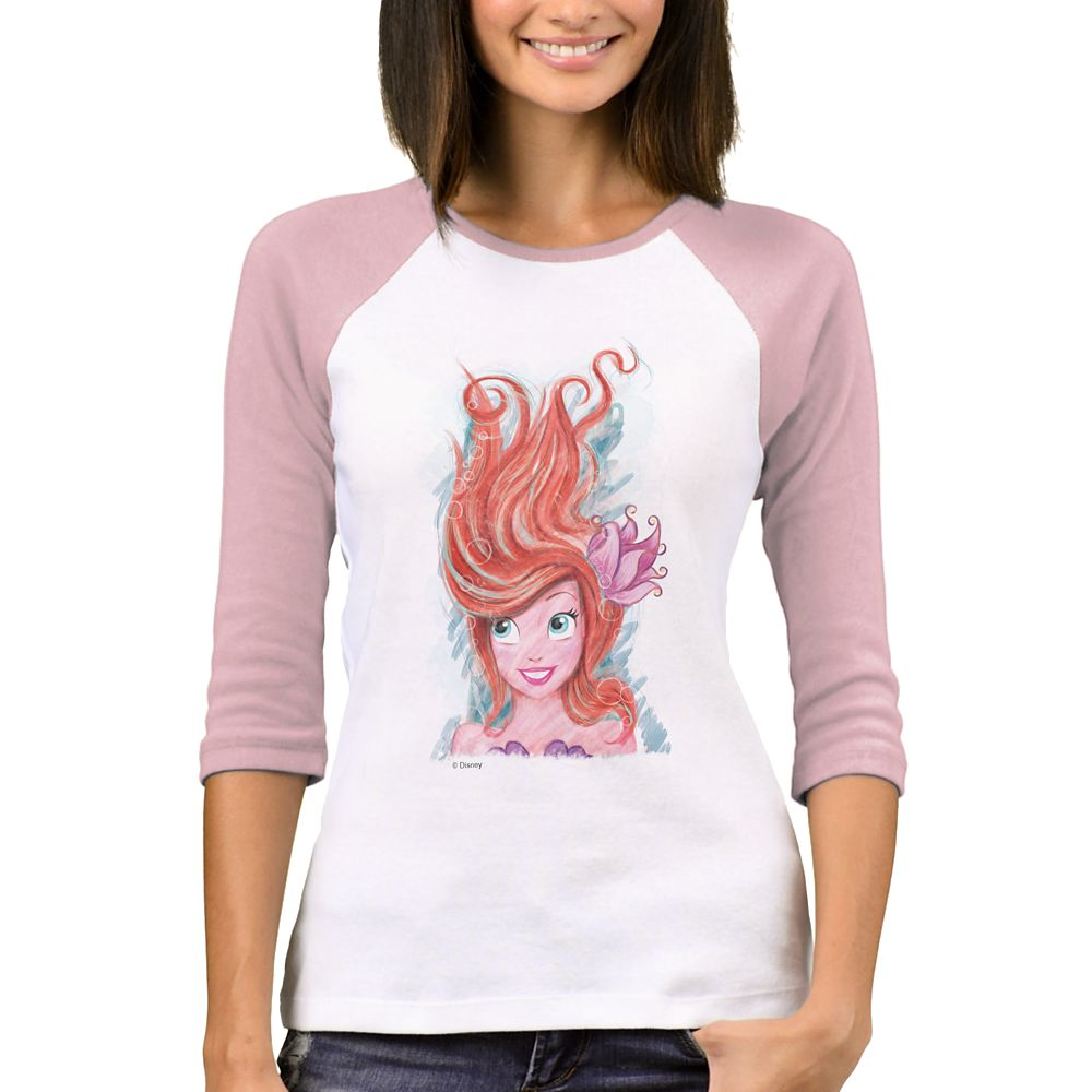 Art of Ariel: Live the Adventure T-Shirt for Women  Customized Official shopDisney