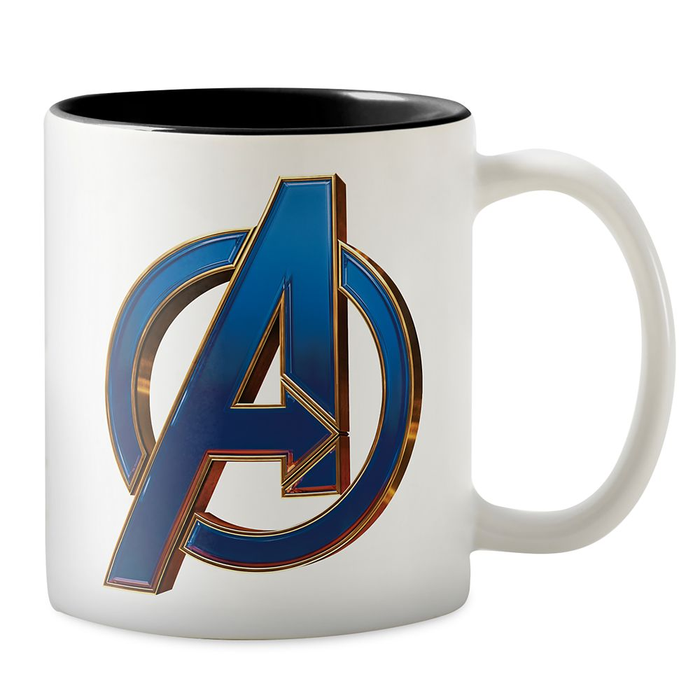 Marvel's Avengers: Endgame – Avengers Blue&Gold Logo Two-Tone Coffee Mug – Customized