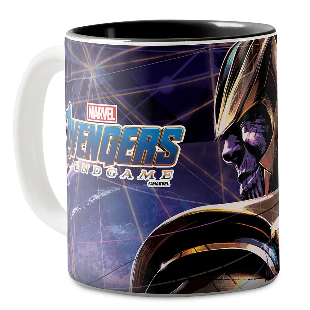 Marvel's Avengers: Endgame  Thanos Fractured Graphic Two-Tone Coffee Mug  Customized Official shopDisney