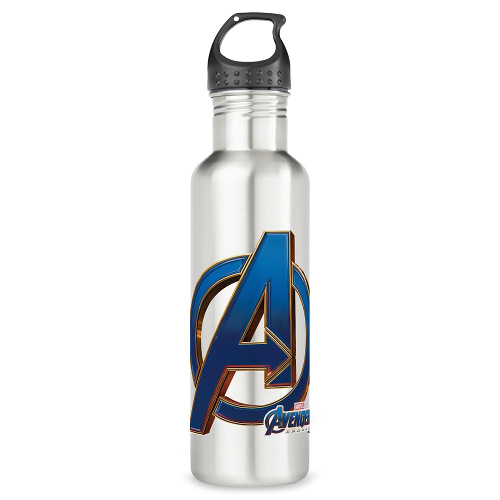 Marvel's Avengers: Endgame – Avengers Blue&Gold Logo Stainless Steel Water Bottle – Customized