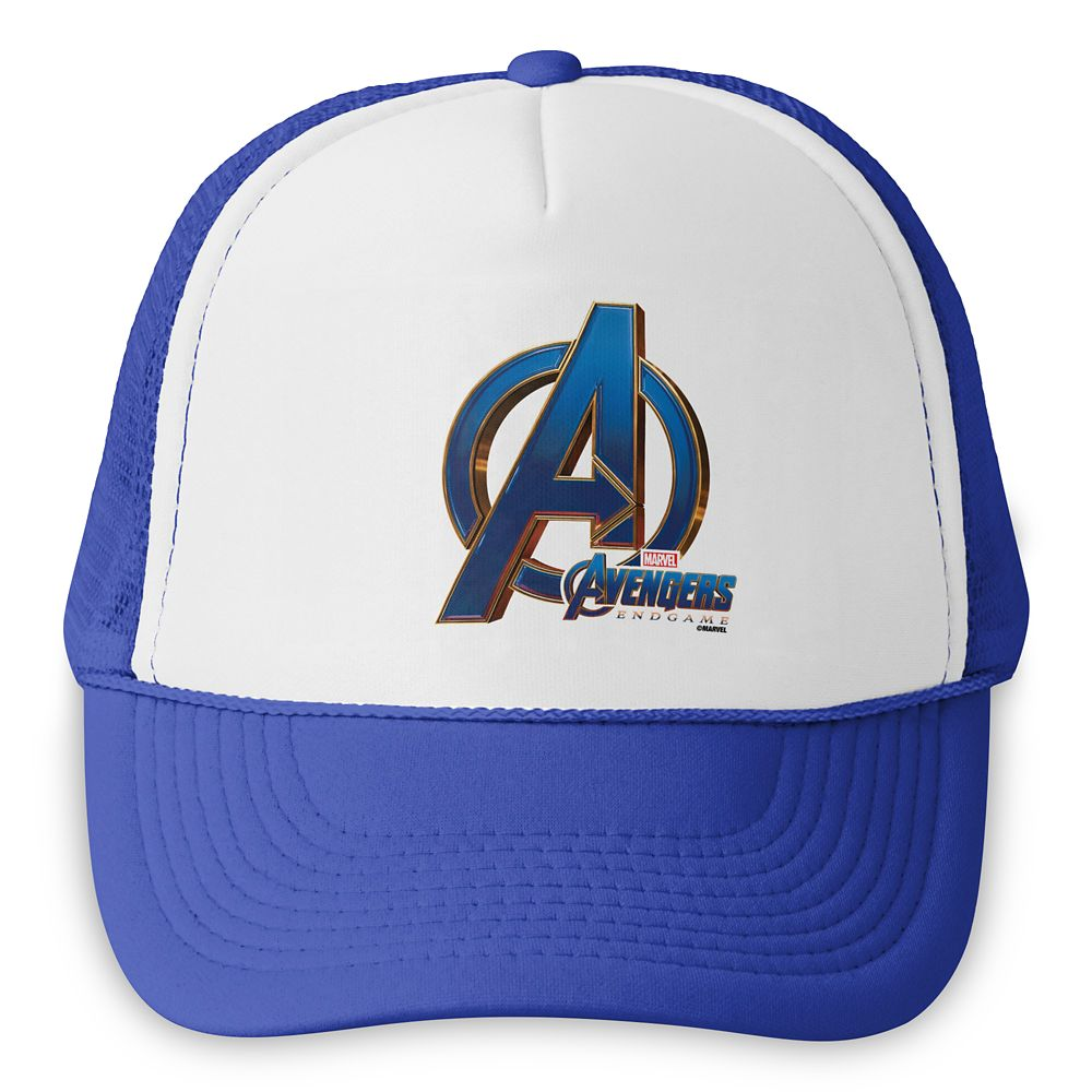 Marvel's Avengers: Endgame – Avengers Blue&Gold Logo Trucker Hat – Customized
