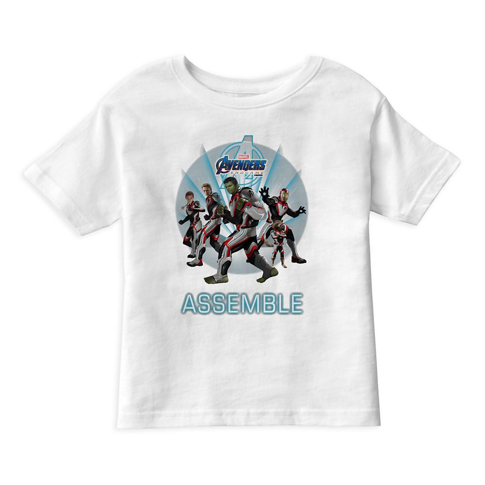 Marvel's Avengers: Endgame – Avengers Group Stance T-Shirt for Boys – Customized