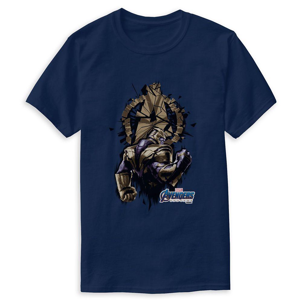 Marvel's Avengers: Endgame – Thanos Shattered Avengers Logo T-Shirt for Men – Customized