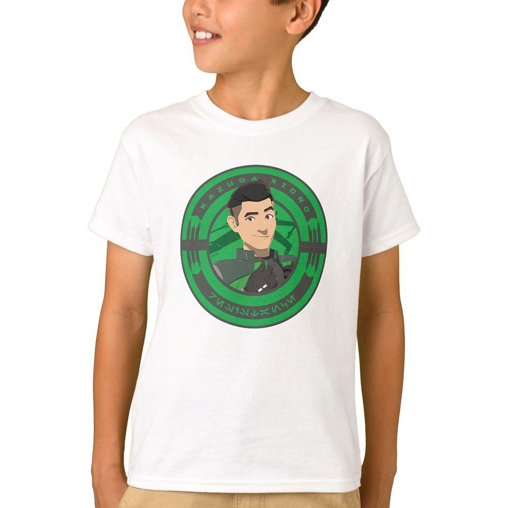shopdisney.com - Kazuda Xiono T-Shirt for Boys  Star Wars: Resistance  Customized Official shopDisney 16.95 USD