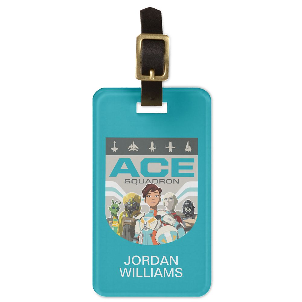 Ace Squadron Bag Tag  Star Wars: Resistance  Customized Official shopDisney