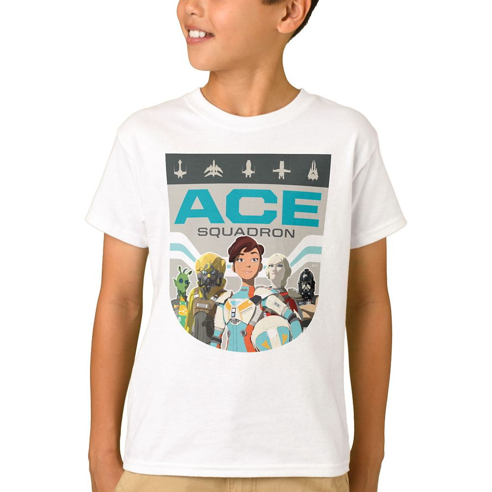Ace Squadron T-Shirt for Boys  Star Wars: Resistance  Customized Official shopDisney