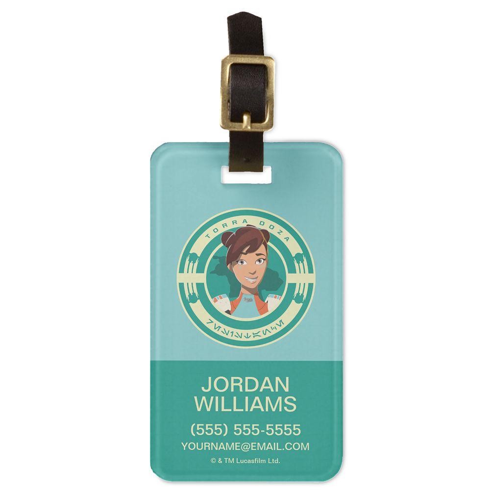 Torra Doza Bag Tag  Star Wars: Resistance  Customized Official shopDisney