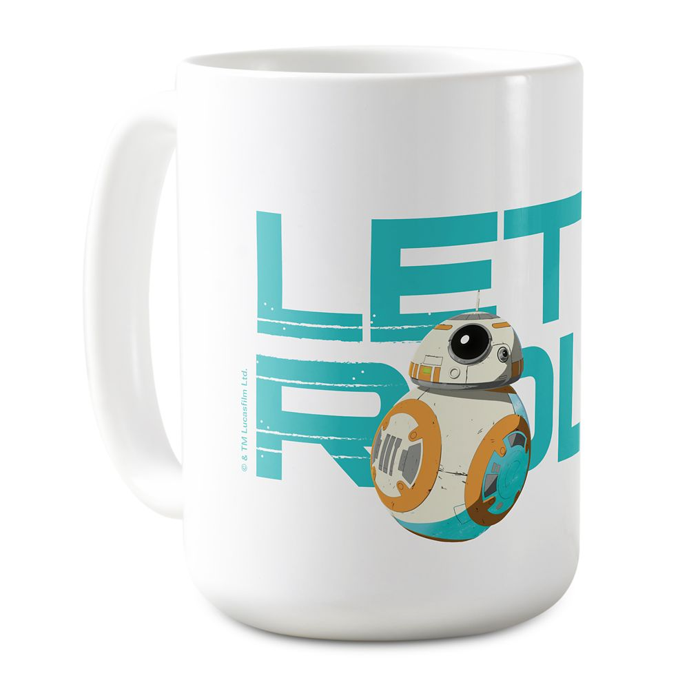 BB-8 Let's Roll Coffee Mug – Star Wars – Customized