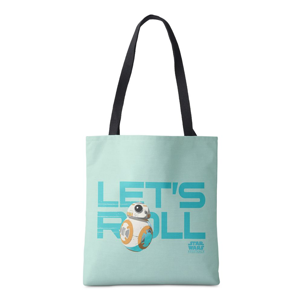 BB-8 Let's Roll Tote Bag – Star Wars – Customized