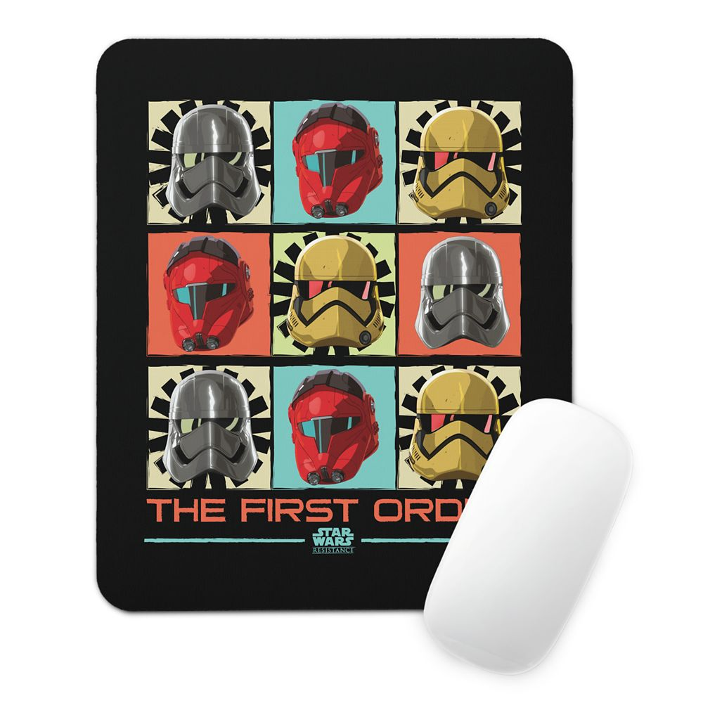 Star Wars Resistance: The First Order Mouse Pad – Customizable