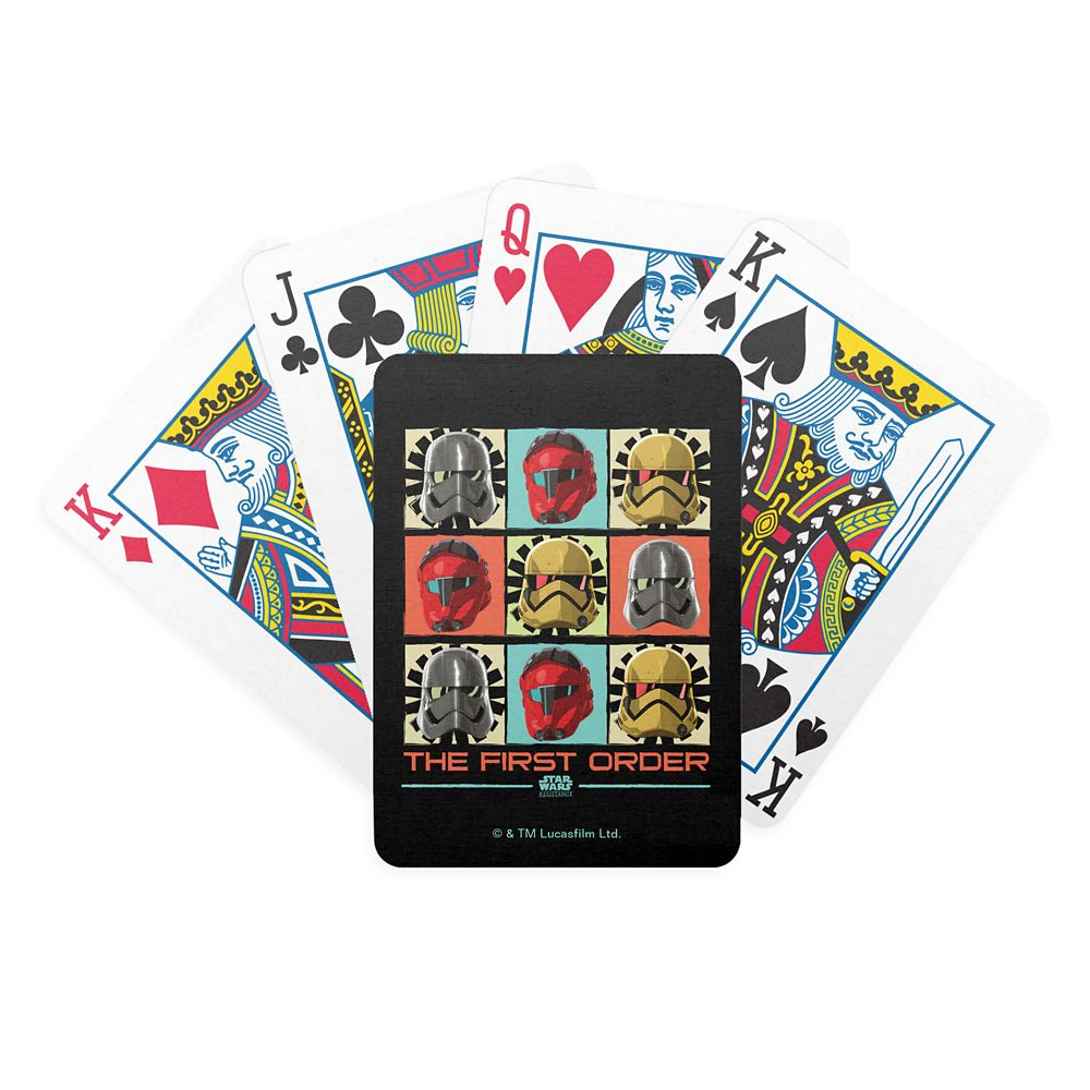 Star Wars Resistance: The First Order Playing Cards  Customizable Official shopDisney