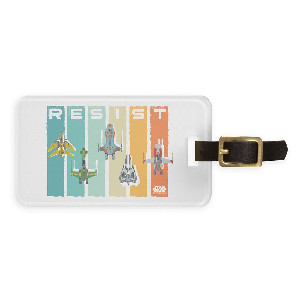 Star Wars Resistance: Vehicles Luggage Tag  Customizable Official shopDisney
