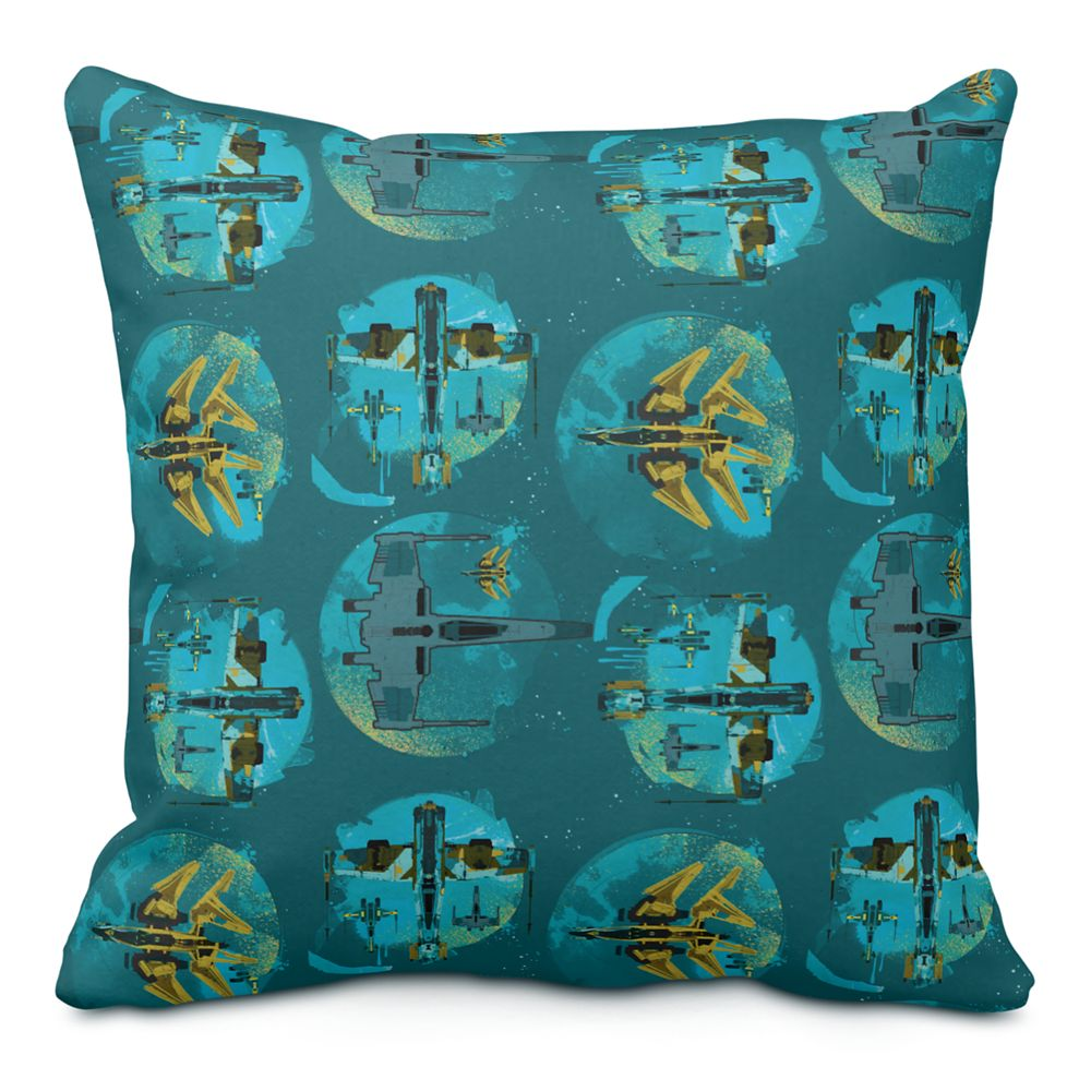 Star Wars Resistance: Vehicles Throw Pillow – Customizable