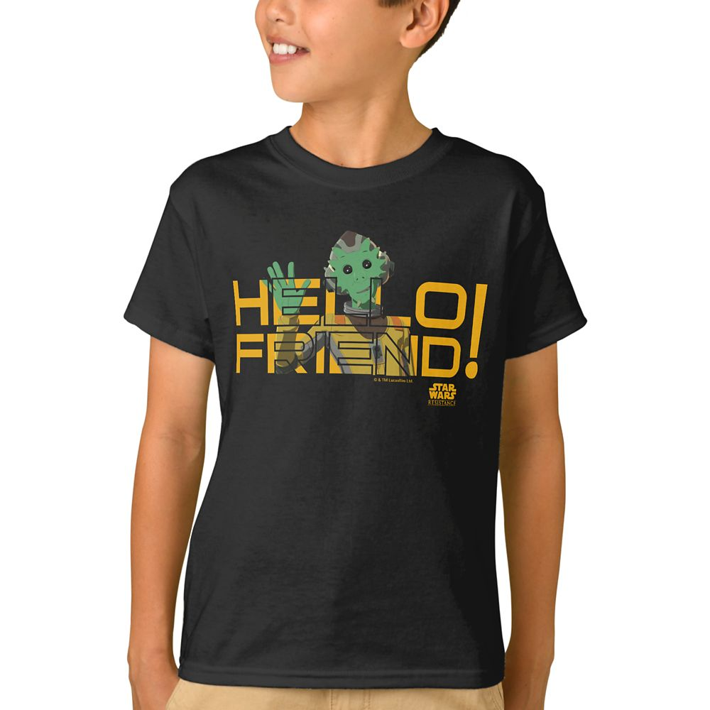 Neeku Vozo T-Shirt for Boys  Star Wars Resistance Official shopDisney