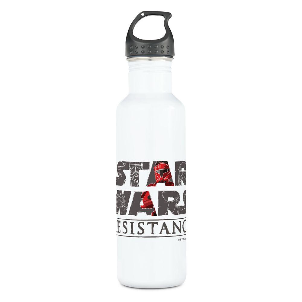 Star Wars Resistance Logo Stainless Steel Water Bottle – Customizable