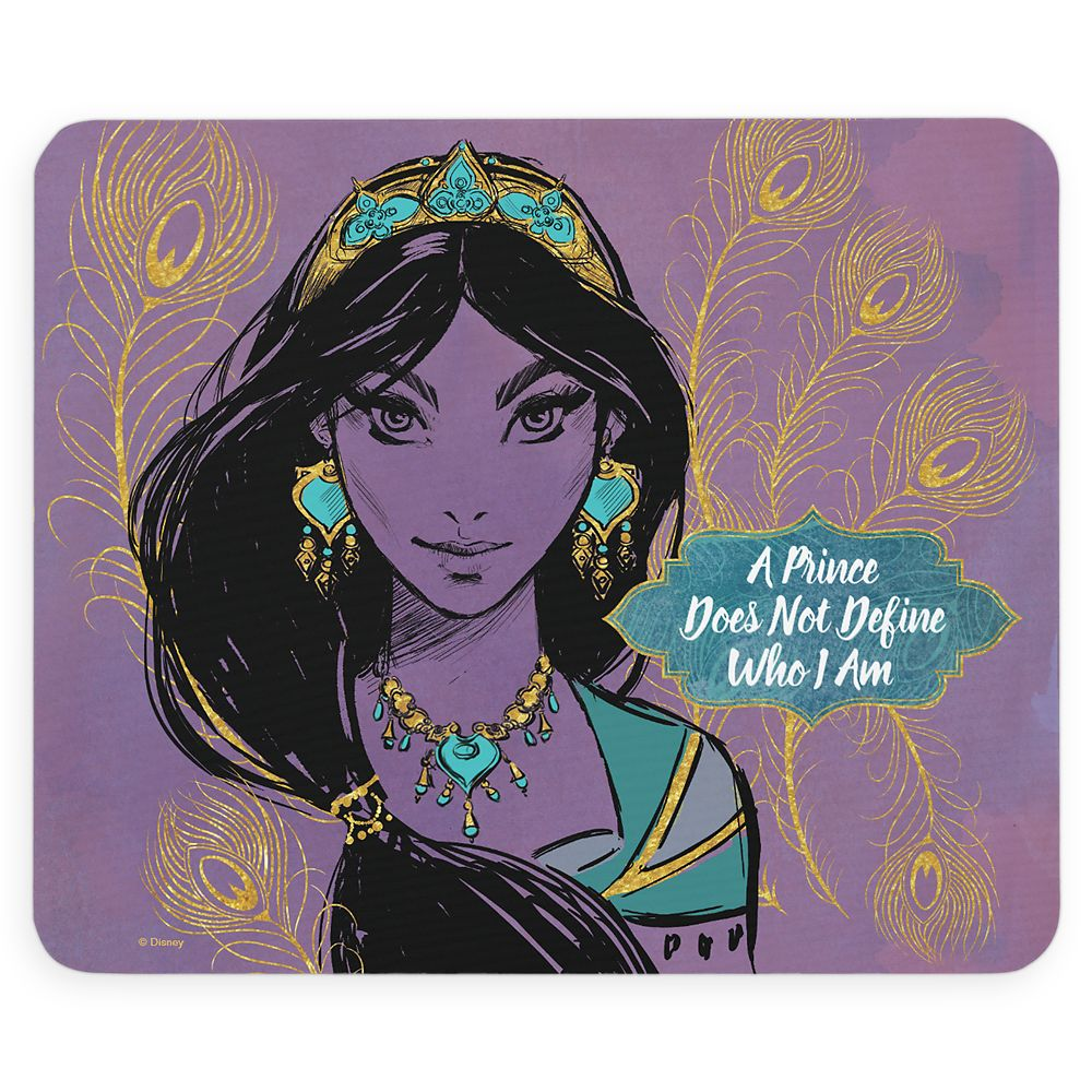 Jasmine ''Who I Am'' Mouse Pad  Aladdin  Live Action Film  Customized Official shopDisney
