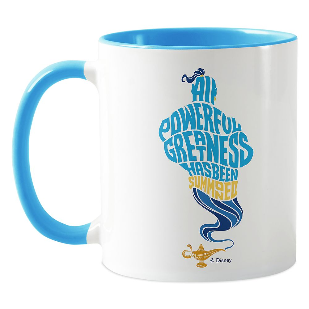 Genie ''All Powerful Greatness'' Mug  Aladdin  Live Action Film  Customized Official shopDisney