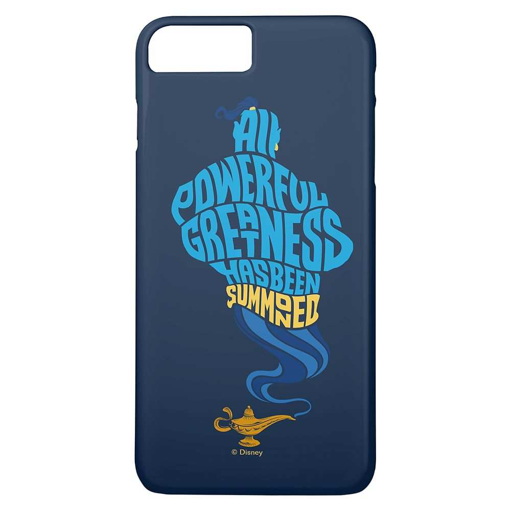 Genie ''All Powerful Greatness'' iPhone 8 Plus/7 Plus Case  Aladdin  Live Action Film  Customized Official shopDisney