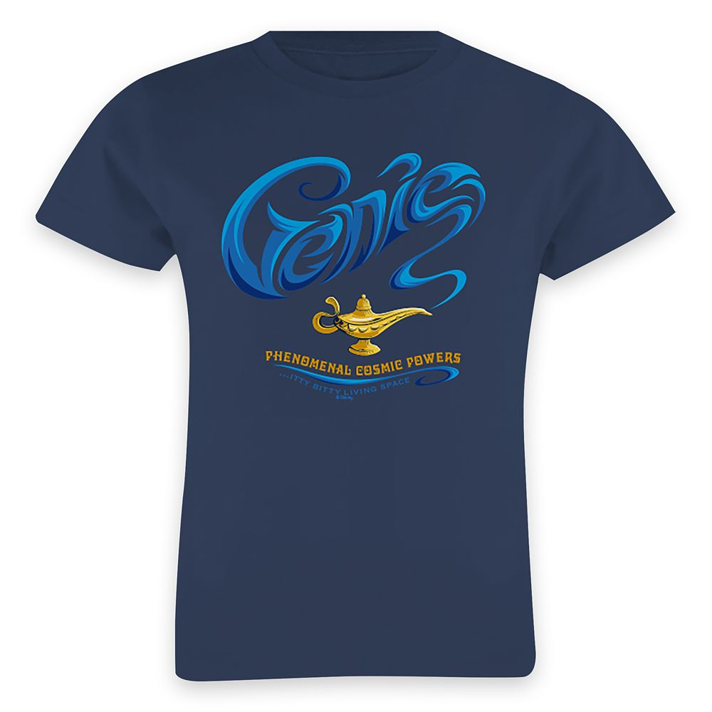 Genie ''...Itty-Bitty Living Space'' T-Shirt for Girls – Aladdin – Live Action Film – Customized