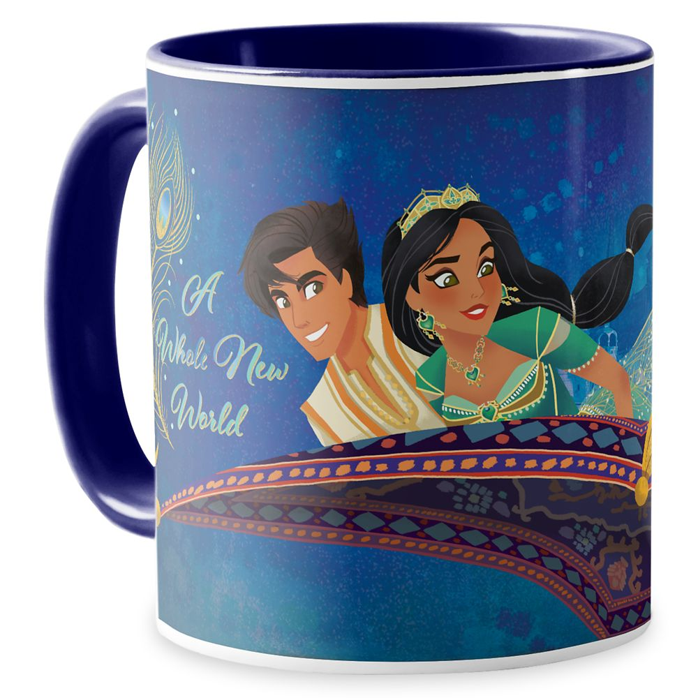 Aladdin ''A Whole New World'' Mug  Live Action Film  Customized Official shopDisney