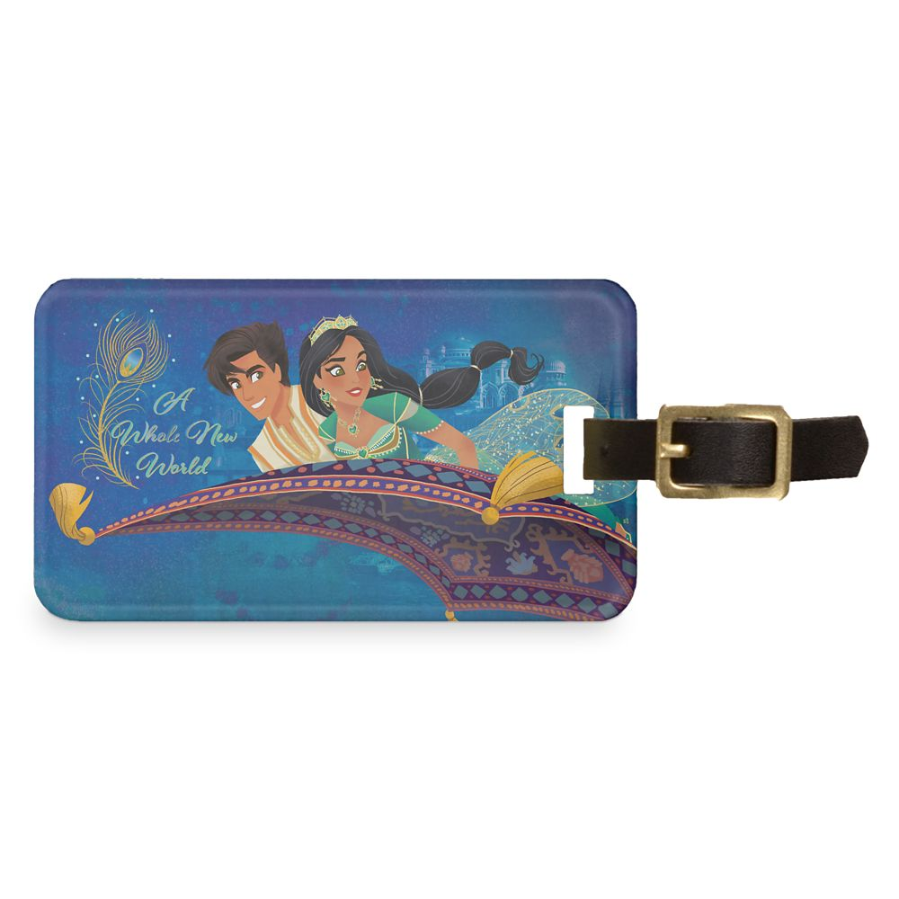 Aladdin ''A Whole New World'' Bag Tag  Live Action Film  Customized Official shopDisney
