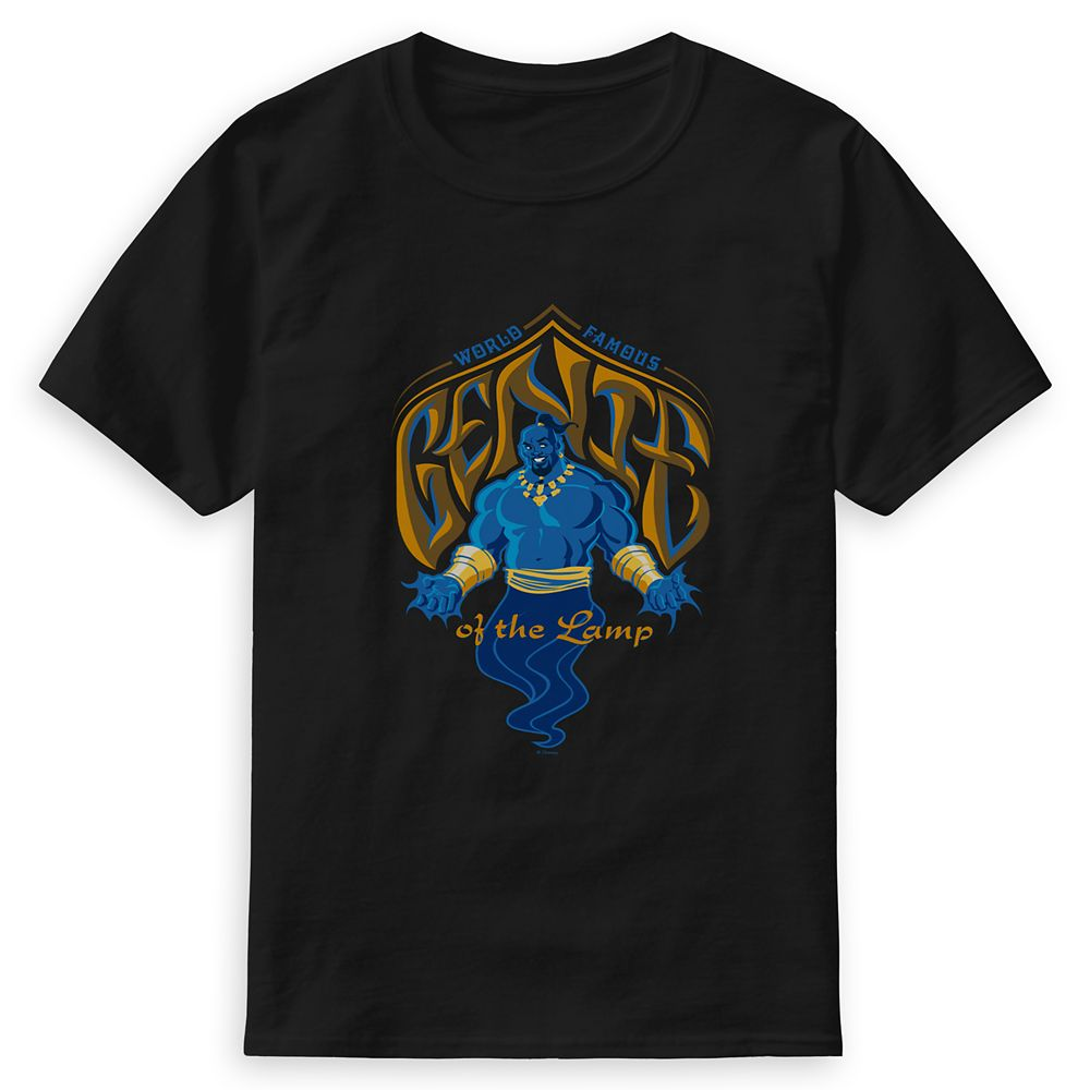 Genie of the Lamp T-Shirt for Men – Aladdin – Live Action Film – Customized