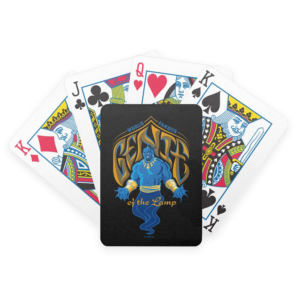 Genie of the Lamp Bicycle Playing Cards  Aladdin  Live Action Film  Customized Official shopDisney