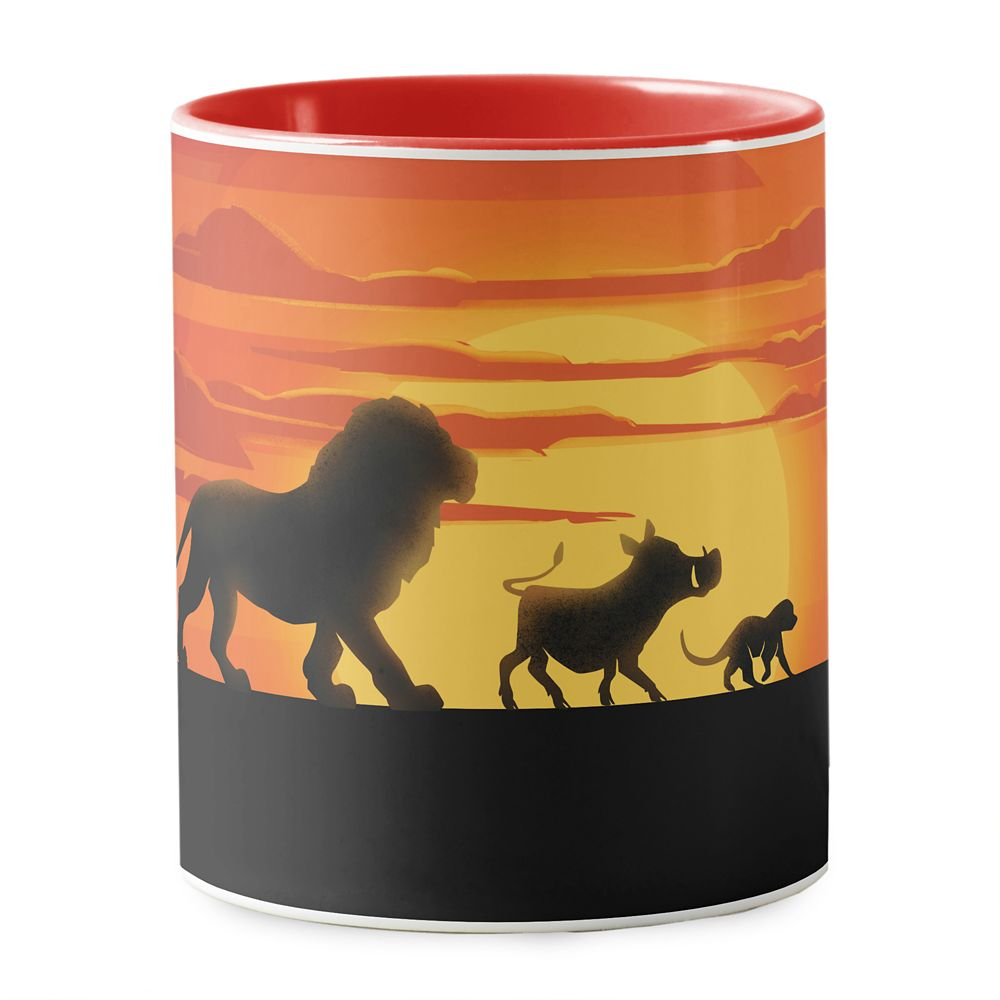 Simba, Pumbaa, and Timon Silhouette Mug – The Lion King 2019 Film – Customized