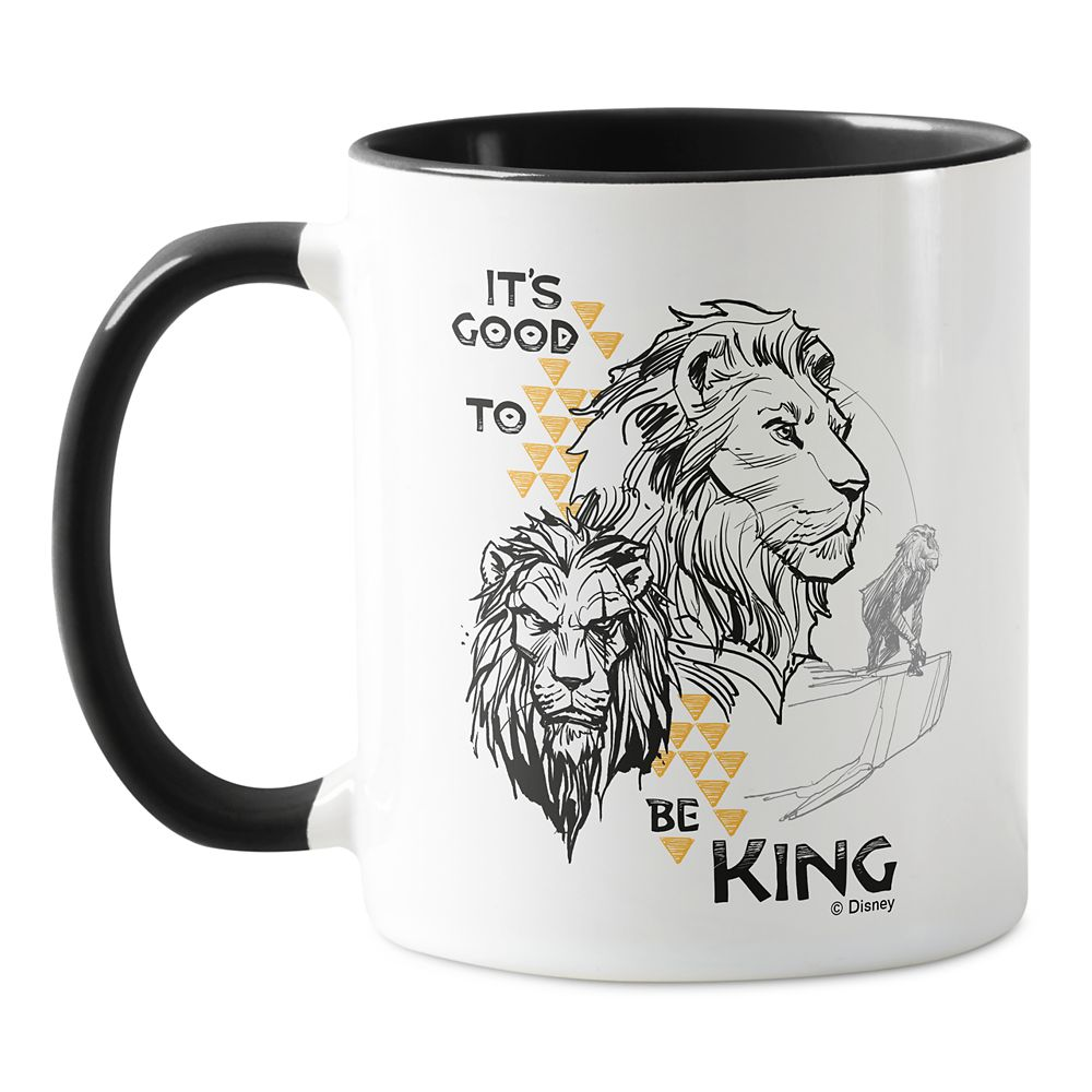 The Lion King 2019 Film: It's Good to Be King Mug – Customized