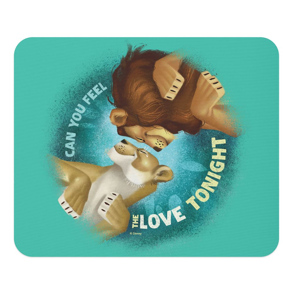 Can You Feel the Love Tonight Mouse Pad – The Lion King 2019 Film – Customized
