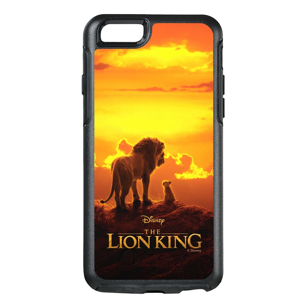 Mufasa and Simba at Sunset OtterBox iPhone 8/7 Case – The Lion King 2019 Film – Customized