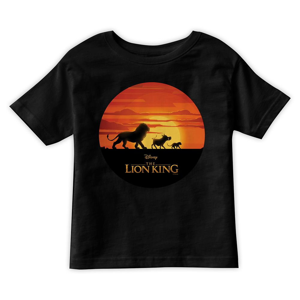 Simba, Pumbaa, and Timon Silhouette T-Shirt for Boys – The Lion King 2019 Film – Customized