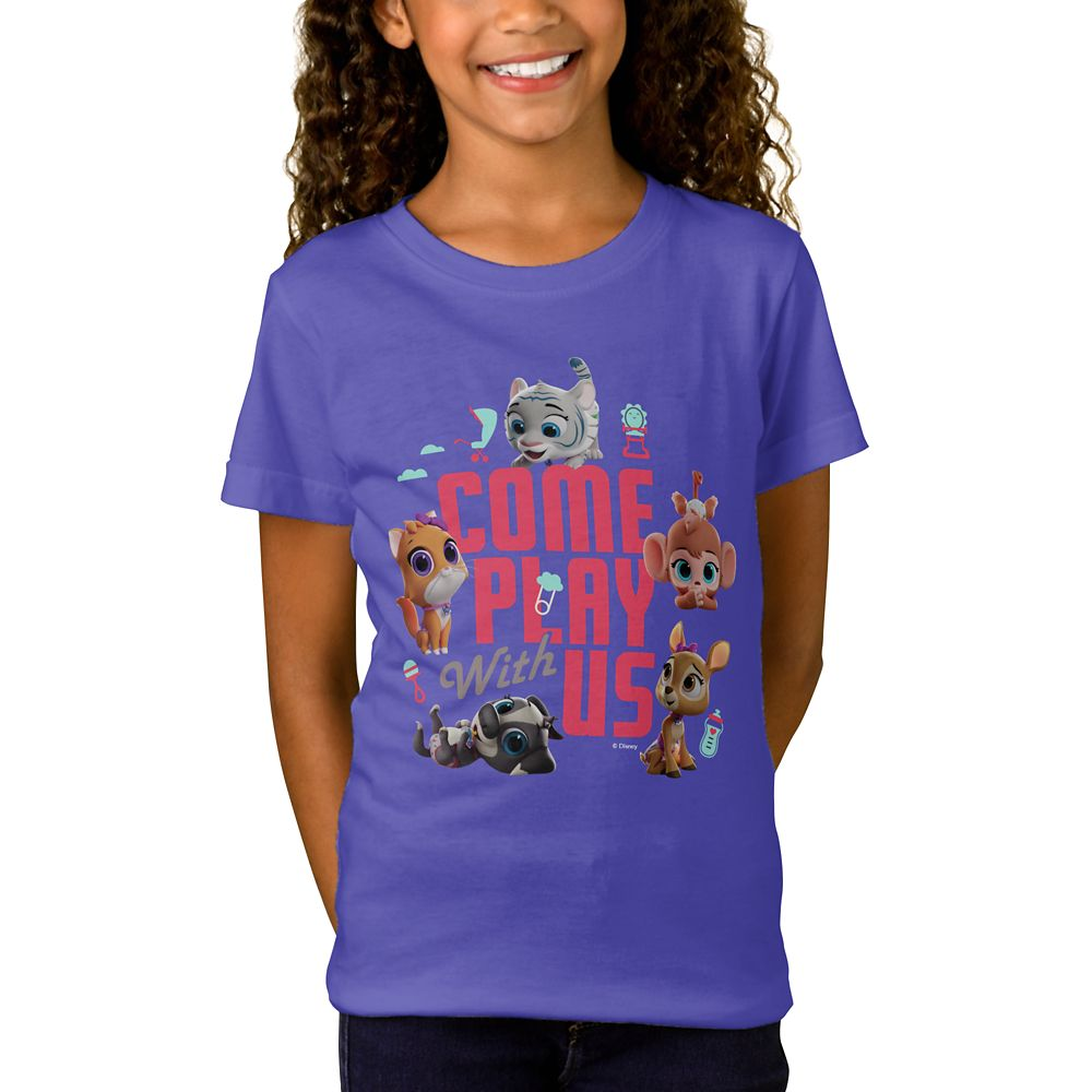 T.O.T.S. ''Come Play With Us'' T-Shirt for Girls  Customized Official shopDisney