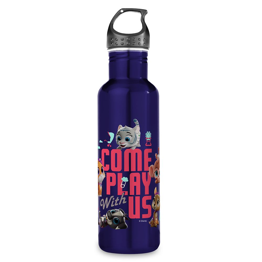 T.O.T.S. ''Come Play With Us'' Water Bottle  Customized Official shopDisney