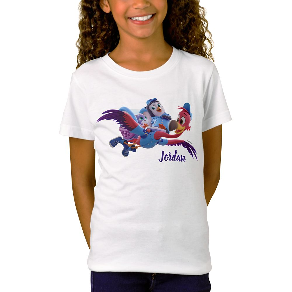 Pip and Freddy T-Shirt for Girl – T.O.T.S. – Customized