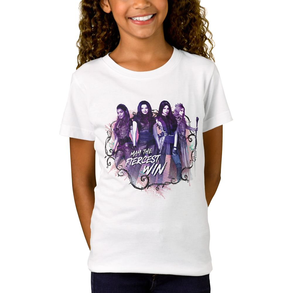Descendants 3 ''May the Fiercest Win'' T-Shirt for Girls – Customized