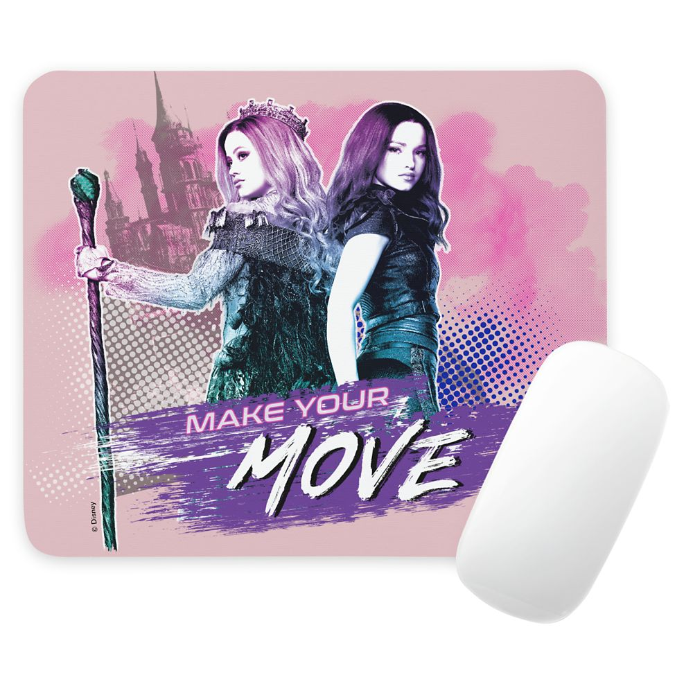 Mal and Audrey Mousepad – Descendants 3 – Customized