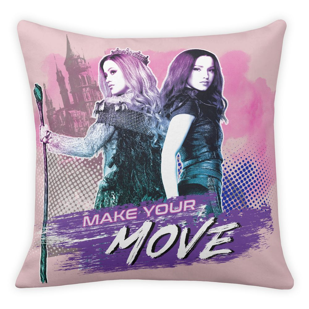 Mal and Audrey Throw Pillow – Descendants 3 – Customized