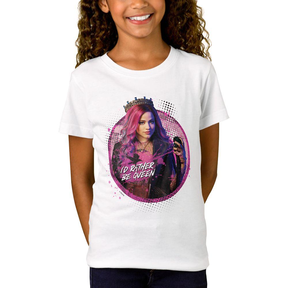 Audrey T-Shirt for Girls  Descendants 3  Customized Official shopDisney