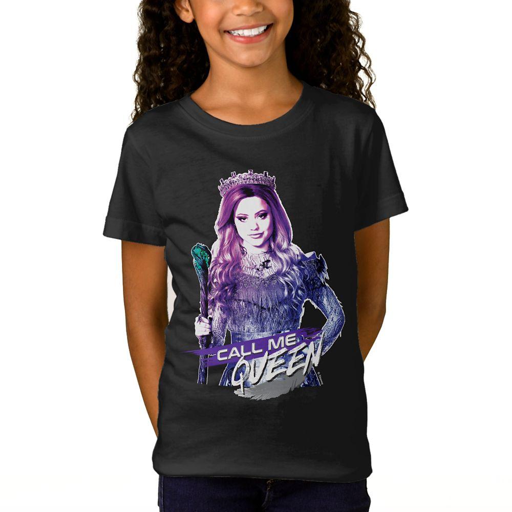 Audrey: Call Me Queen T-Shirt for Girls  Descendants 3  Customized Official shopDisney