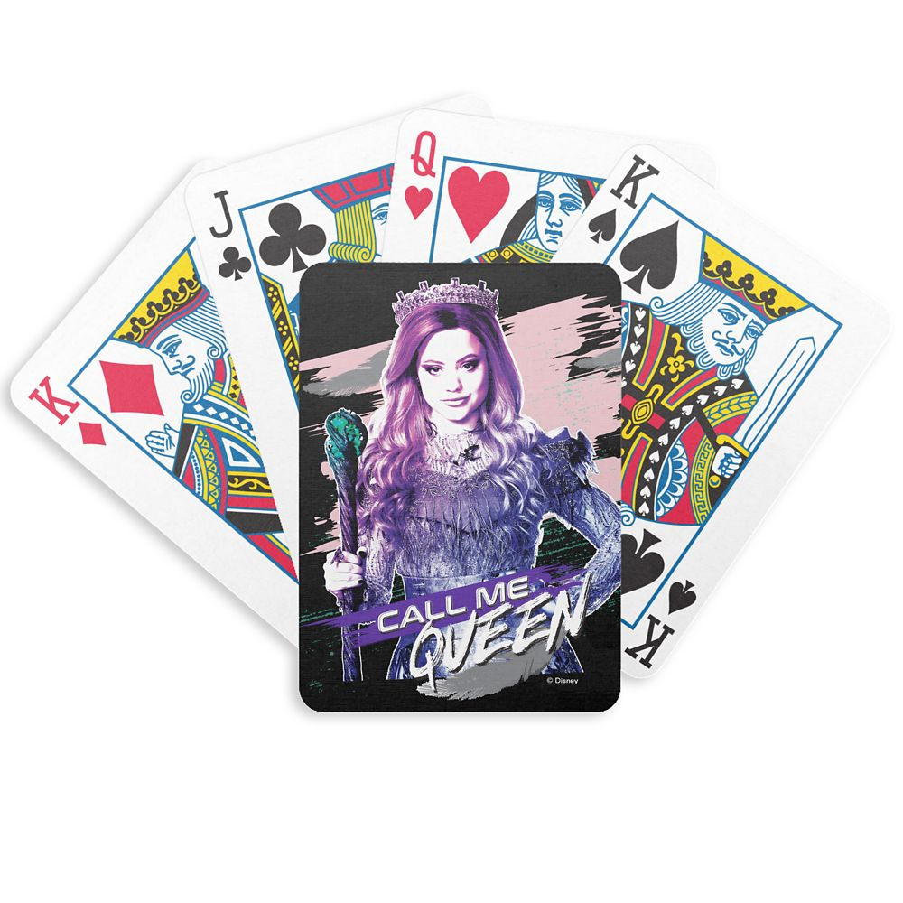 Audrey: Call Me Queen Bicycle Playing Cards  Descendants 3  Customized Official shopDisney